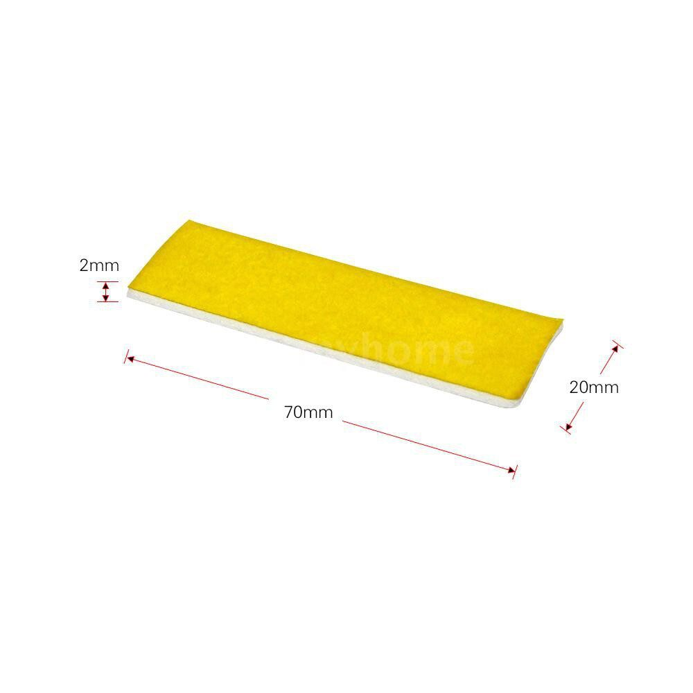 Printers & Projectors - 10 PIECE(s) 2mm Thick Heating Block Cotton High Temperature Resistant for Makerbot Ultimaker 3D - WITHOUT HOLE / WITH HOLE
