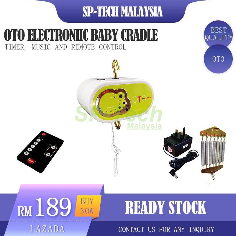 OTO ELECTRONIIC BABY CRADLE [WITH MUSIC/TIMER] [FREE LUMINARC JAR]