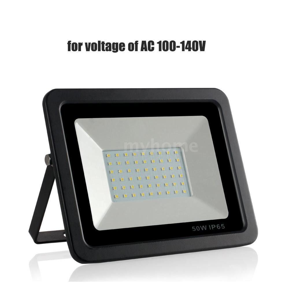 Lighting - AC 100-140V 50W 64LEDs Flood Light Thin Spot Lamp Landscape Floodlight IP65 Water Resistant Bright - 50W&WARM WHITE / 50W&WHITE / 30W&WARM WHITE / 30W&WHITE / 10W&WARM WHITE / 10W&WHITE
