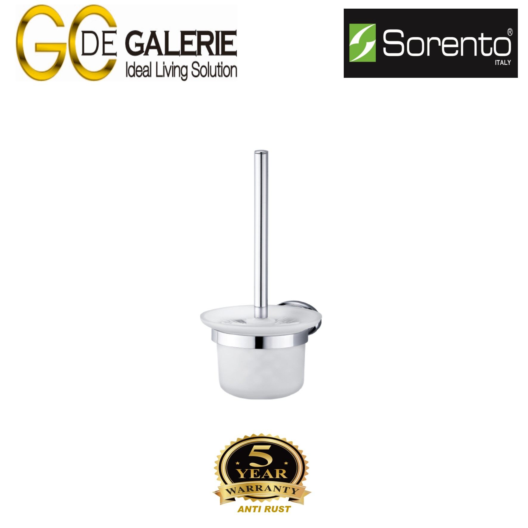 Sorento SRT7915 Bathroom/ Toilet Stainless Steel 304 Brush Holder