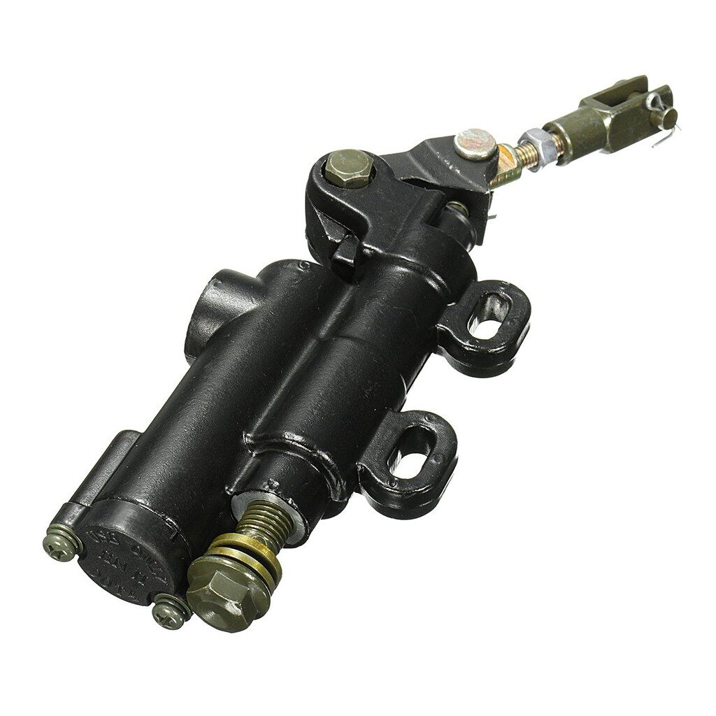 Moto Accessories - Motorcycle Scooter Rear Foot Brake Master Cylinder Pit Dirt Bike ATV Universal - Motorcycles, Parts