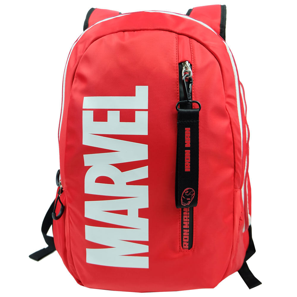 Marvel Avengers VAN1968 18inch Notebook Backpack with USB Charging Point- IRON MAN