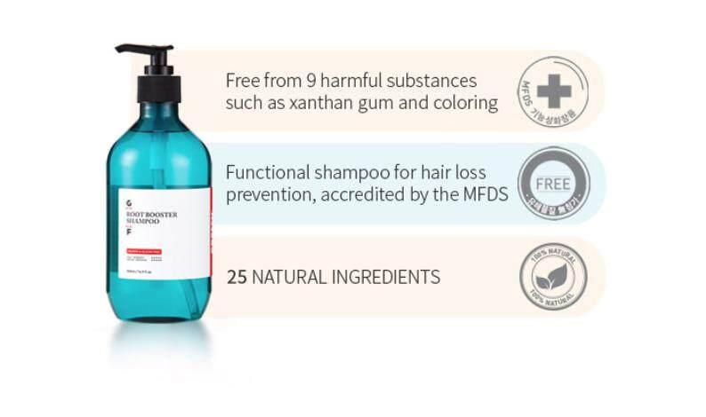 Grafen Root Booster Shampoo (500ml) Special Edition - Original from Korea