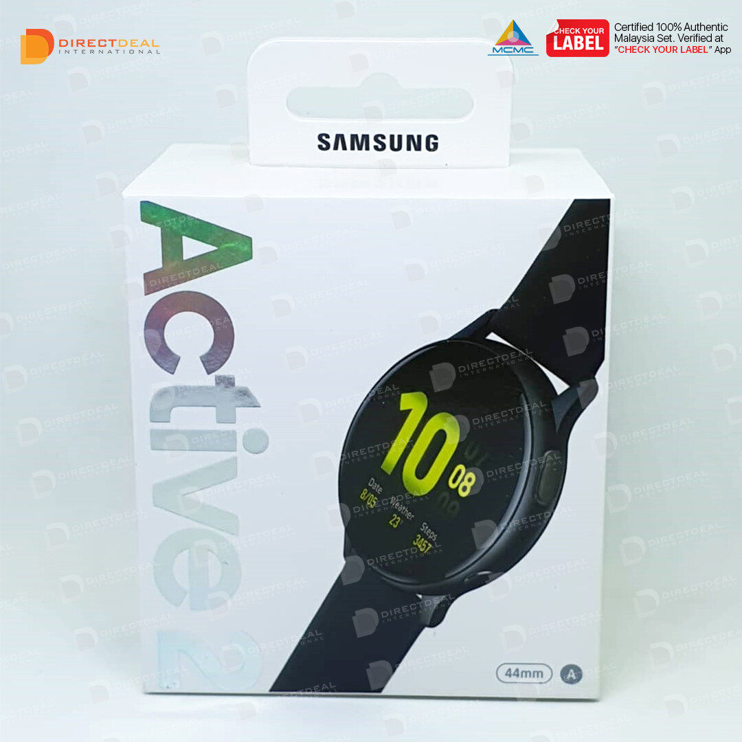 Samsung Galaxy Watch Active 2 (40mm) Aluminium - R830 Smart watch 1 Year Warranty MY SET