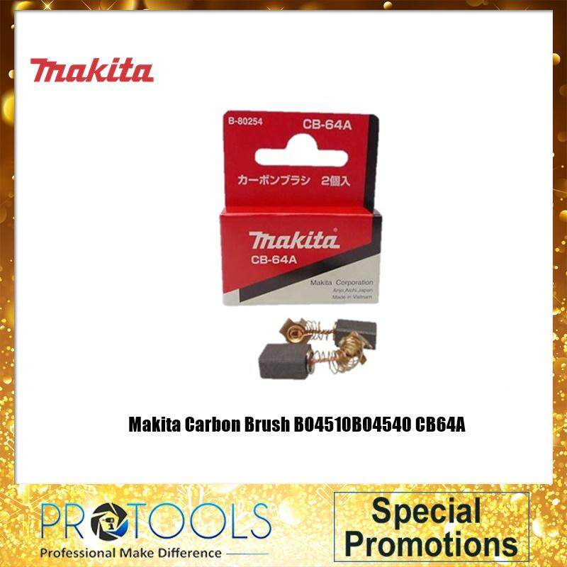 Makita Carbon Brush BO4510BO4540 CB64A -ORINGINAL MAKITA