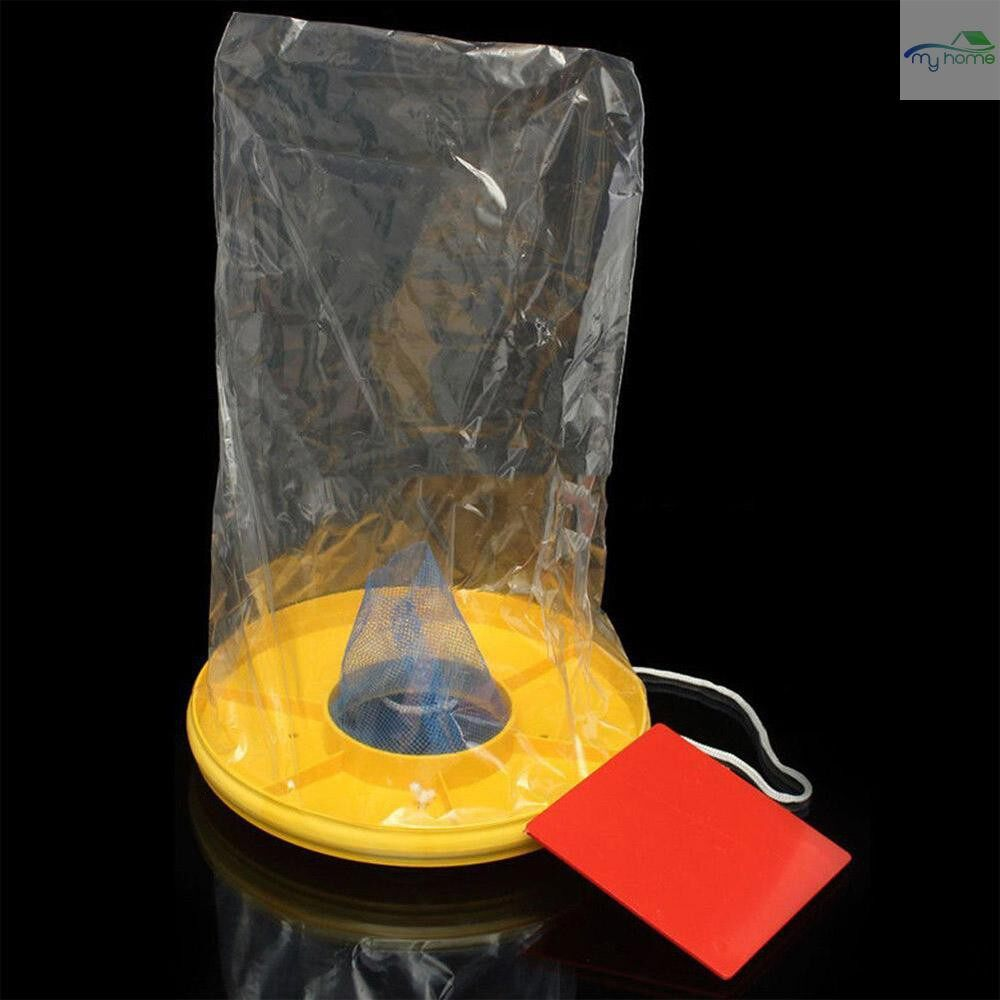 Outdoor & Garden - Outdoor Hanging Type Fly Attracting Bag Useful Flies The Ultimate Red Drosophila Fly Wasp Insect - #