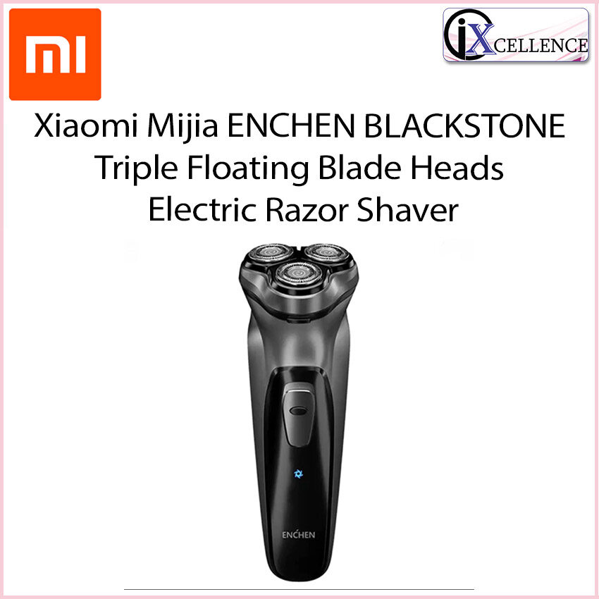 [IX] Xiaomi Mijia ENCHEN BLACKSTONE 3D Triple Floating Blade Heads Electric Razor Shaver