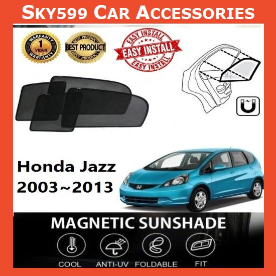Honda Jazz 2007-2013 Magnetic Sunshade ?6pcs?