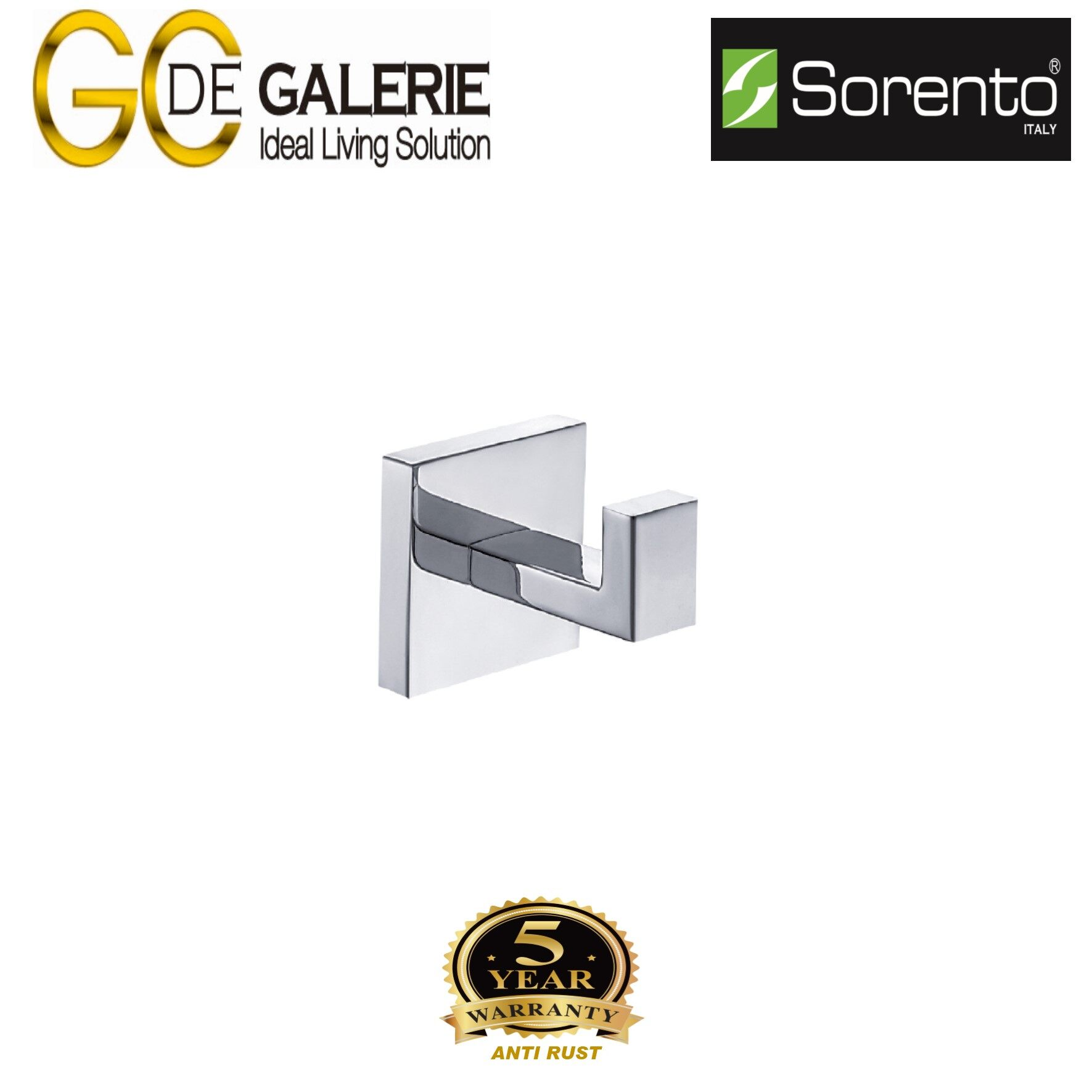 Sorento SRT6006 Bathroom/ Toilet Stainless Steel 304  Robe Hook