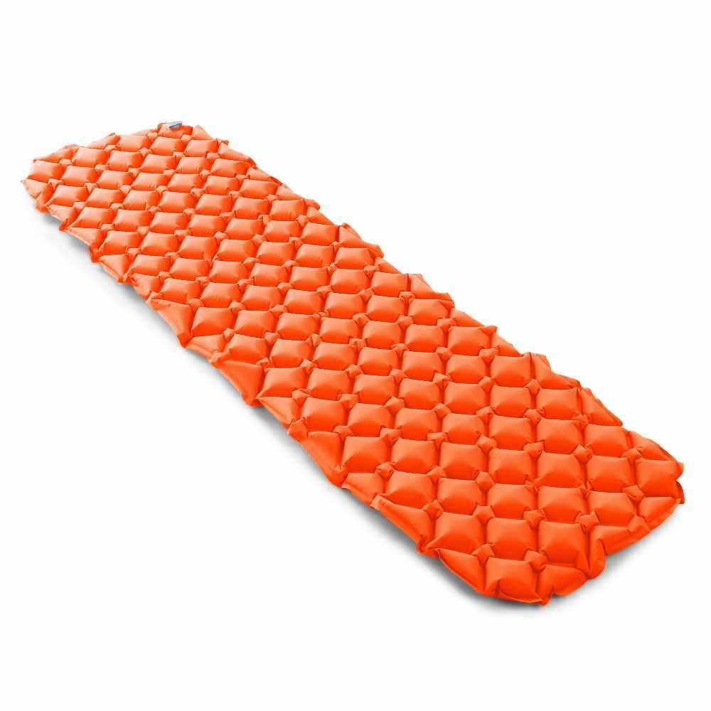 Best Selling Ultralight Air Sleeping Pad Inflatable Camping Mat (Orange1)