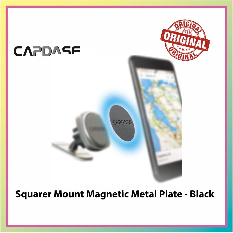 Capdase Squarer Mount Magnetic Metal Plate - Black