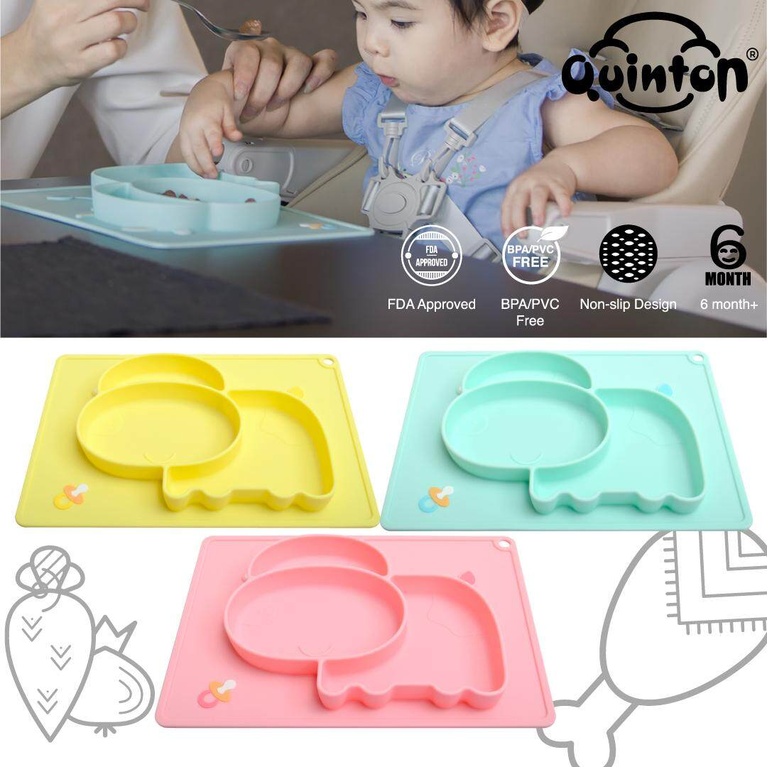 Quinton Silicone Placement Plate Cow