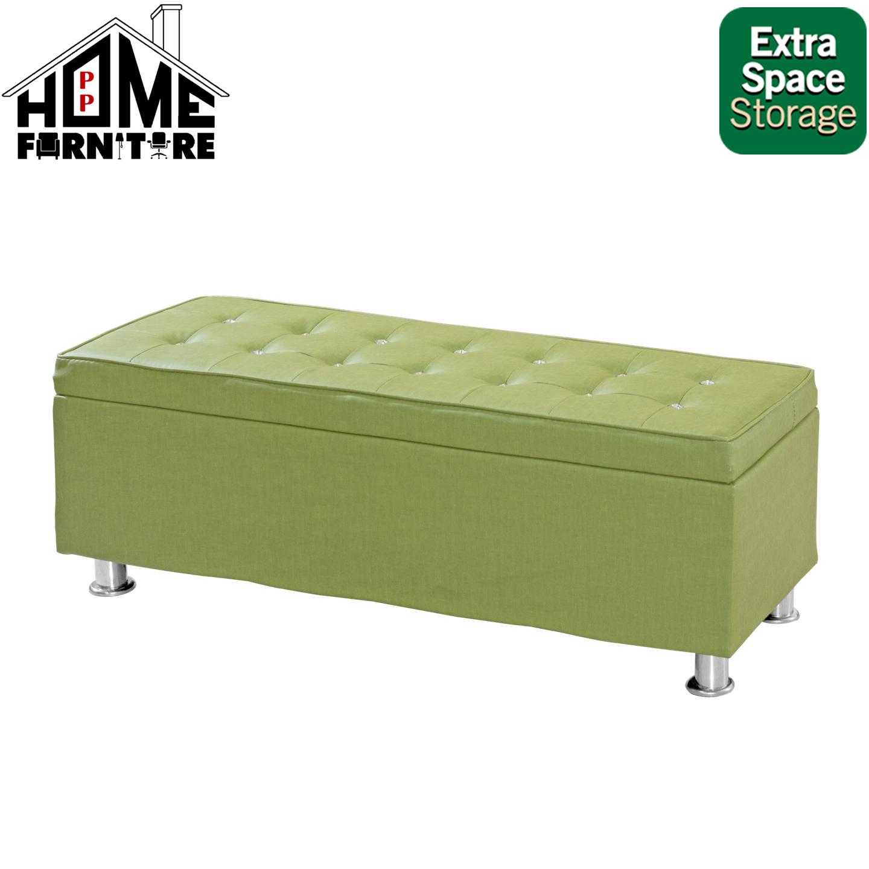 PP HOME Sofa stool/Sofa relax/Lazy chair/Sofa bed/ Sofa I shape/Sofa single/ Bench chair/Lazy sofa/ Storage stool/  Long sofa/ Sofa bangku/ Sofa panjang 长凳沙发椅/ 懒人沙发9083