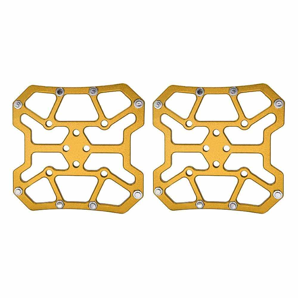 Best Selling MTB Mountain Bicycle Clipless Pedal Platform Adapters for SPD for KEO (Gold)