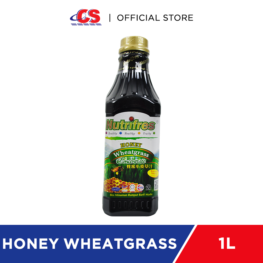 NUTRIFRES Concentrate Honey Wheatgrass 1kg