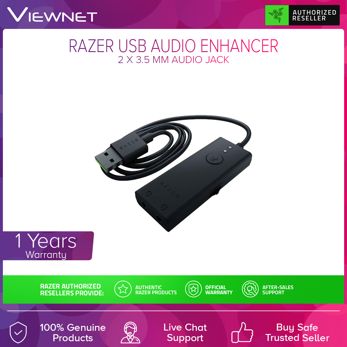 Razer RZ19-02310100-R3M1 USB Audio Enhancer