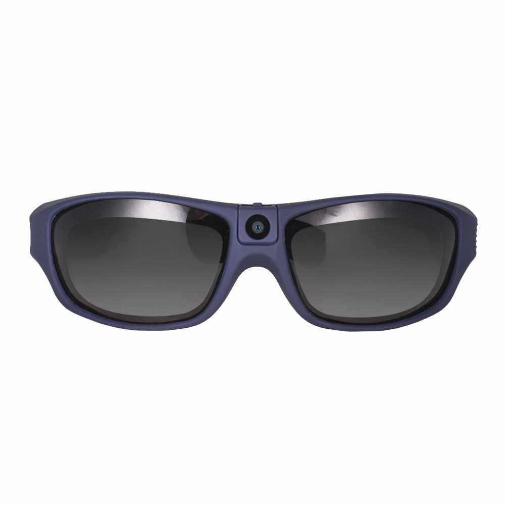 Smart Video Recording Sunglasses 1080P FHD Outdoor Sports Action Camera (Blue)