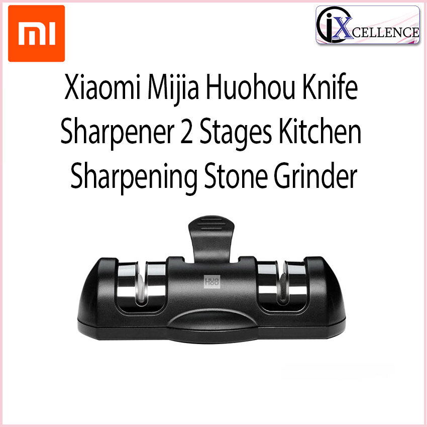 [IX] Xiaomi Mijia Huohou Knife Sharpener 2 Stages Kitchen Sharpening Stone Grinder HU0045
