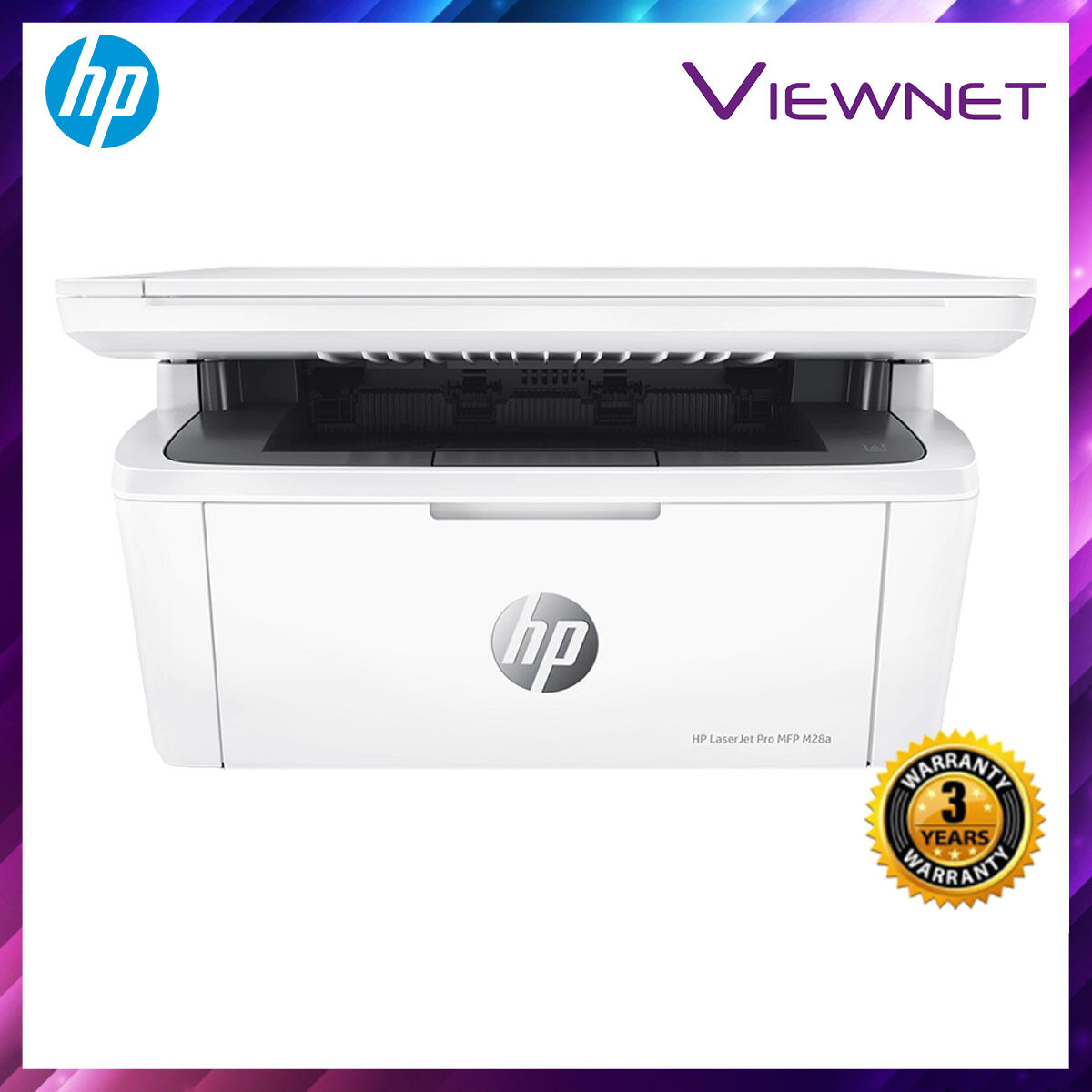 HP LaserJet Pro MFP M28a Printer PRINT SCAN COPY 3 Years Onsite Warranty with 1-to-1 Unit exchange **NEED TO ONLINE REGISTER**