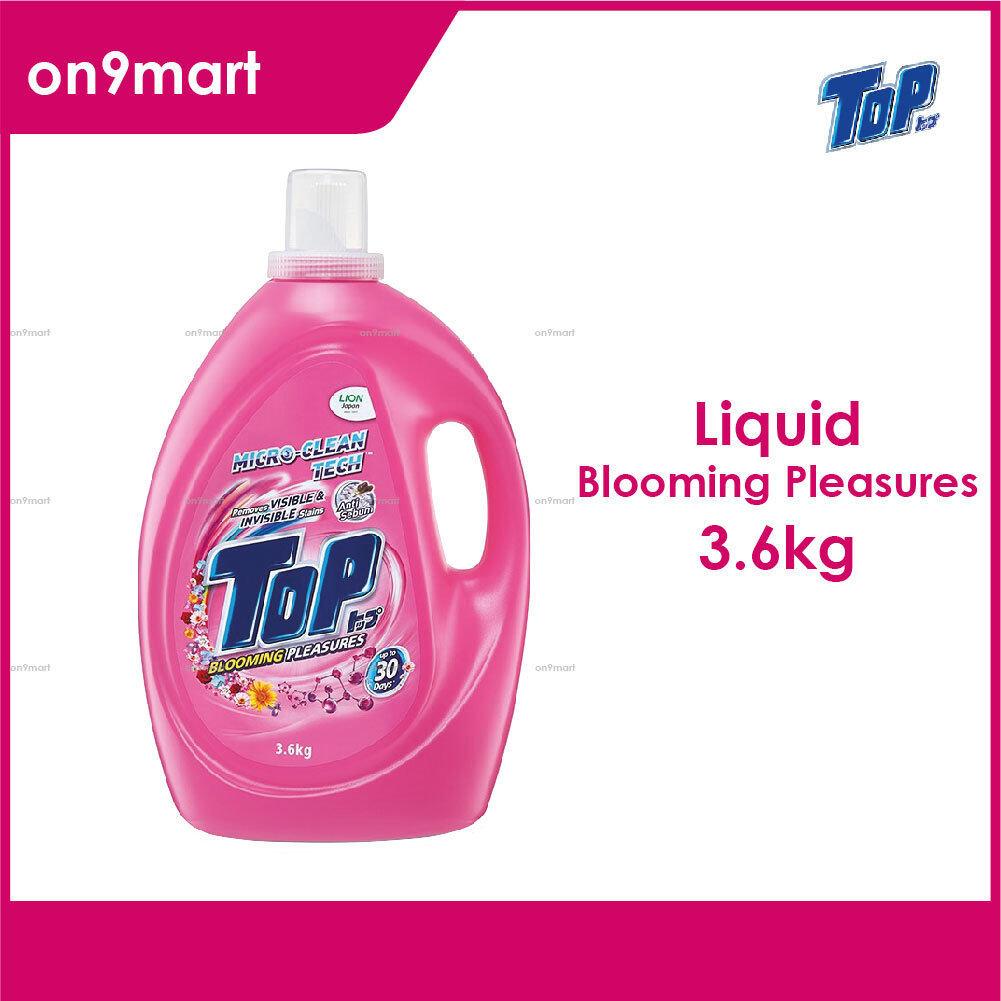TOP Liquid Laundry Detergent - Blooming Pleasures 3.6kg