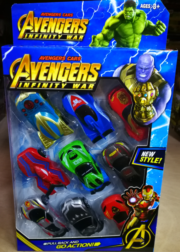 Kids Toy - Avengers Infinity War Mini Model Vehicles Car baby toys