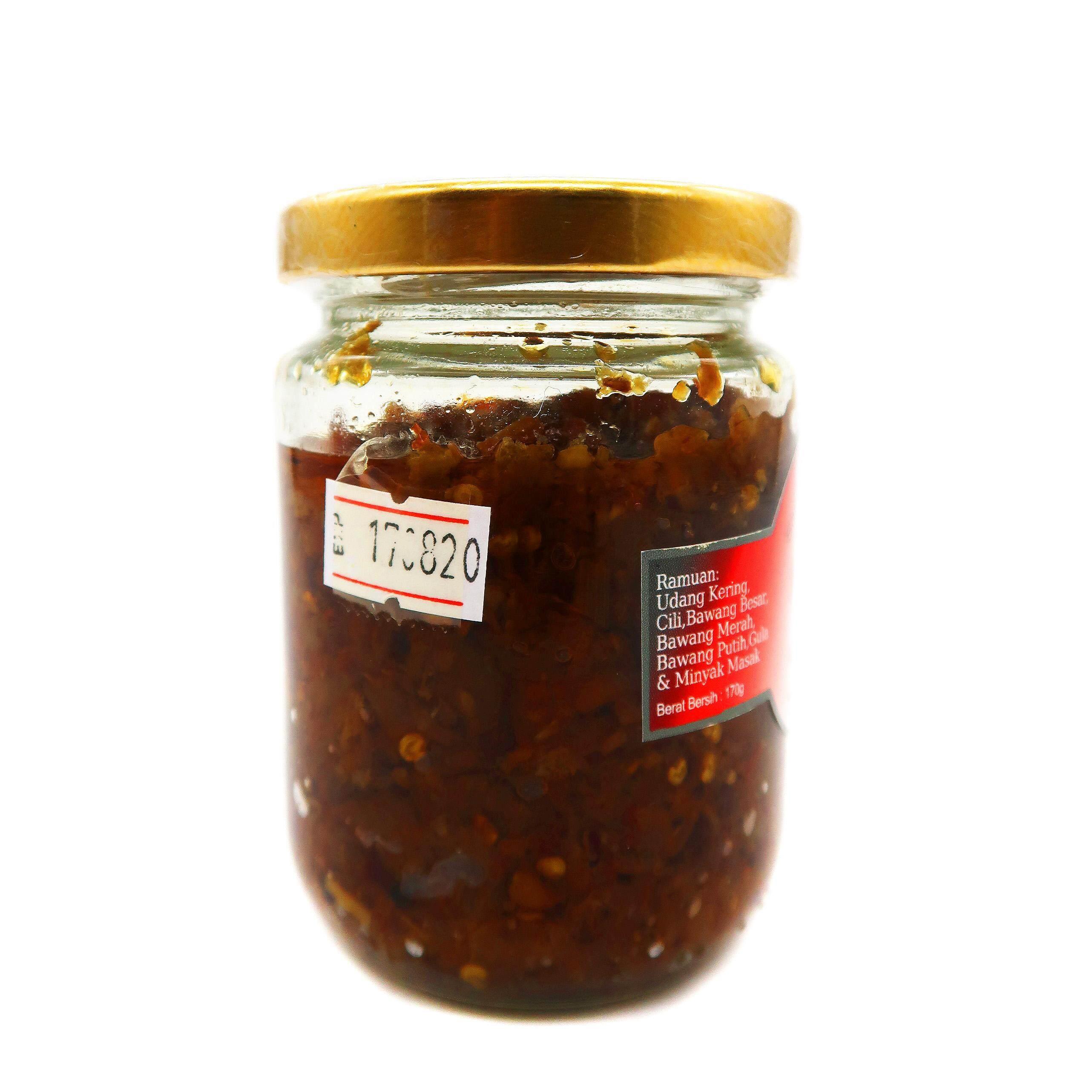 MENAQ Sambal Udang Pedas Homemade Recipe 170g