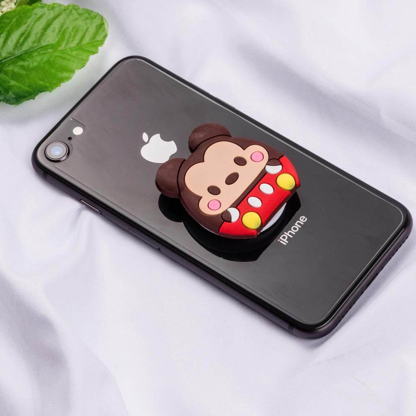 Cute Mickey Cartoon Pattern Airbag Cellphone Bracket Phone Stand Holder