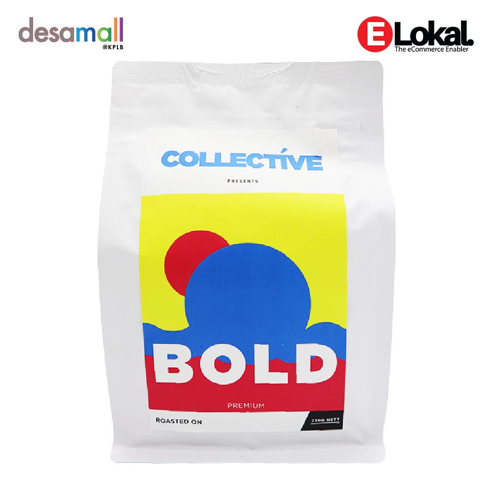 COFFEE COLLECTIVE Bold Premium Blend (250g) - Jenis Kisaran : Halus