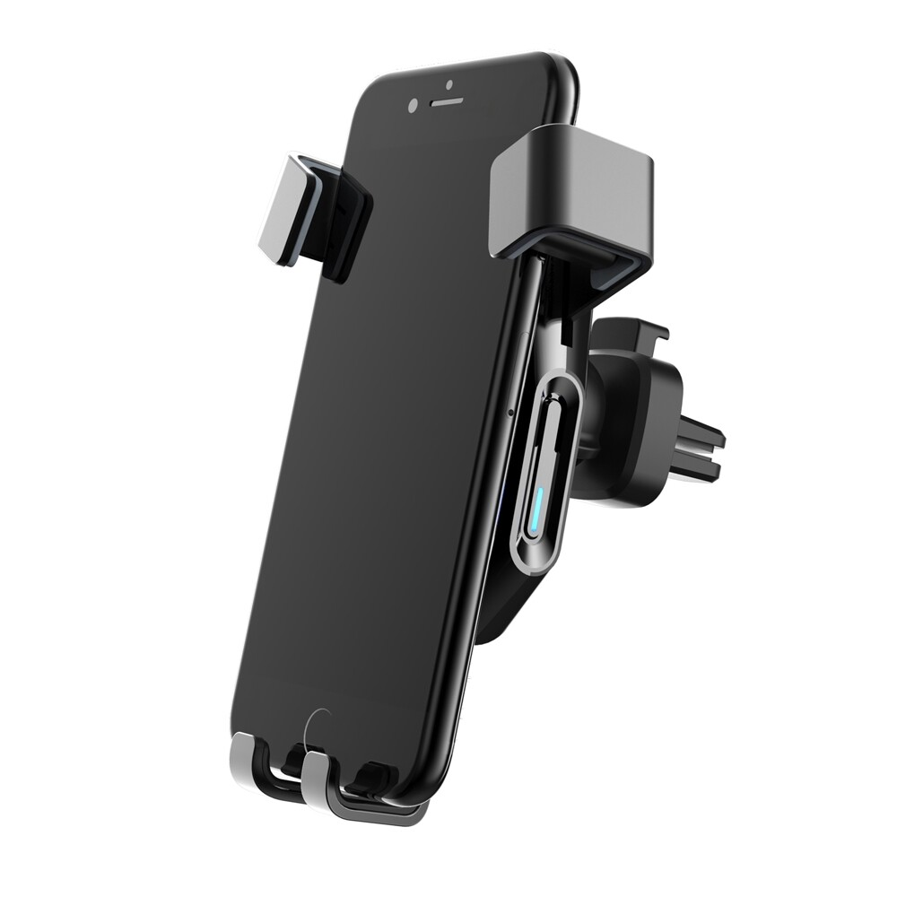 Phone Holder & Stand - 10W 7.5W 5W Infrared Induction Fast Charging WIRELESS Charger For iPh 11 Max Pro XS - Cases Covers