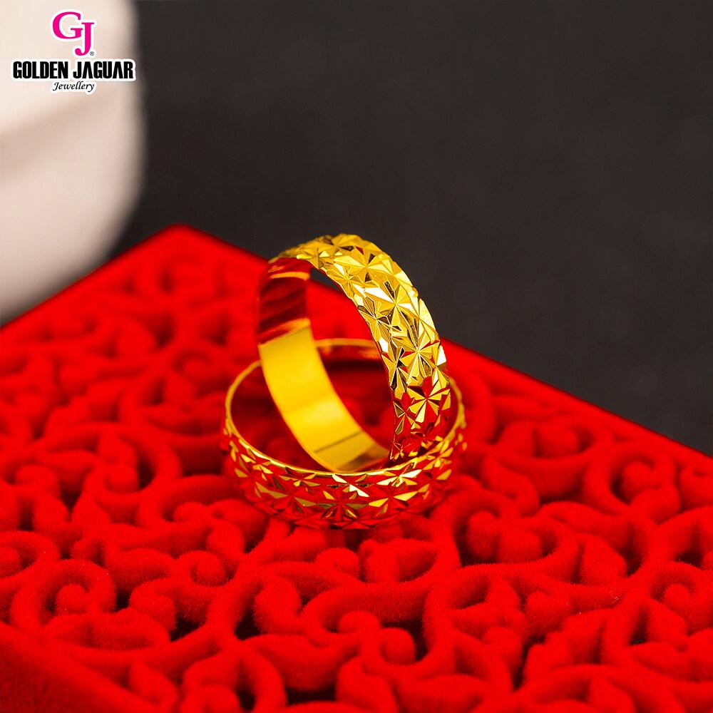 GJ Jewellery Emas Korea Woman Gold Plated Ring - Cincin Permata Kikir (88603) For Women