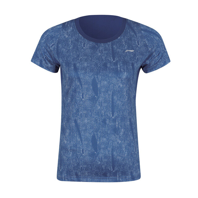 Li-Ning Men's Badminton T-Shirt - Blue AAYP319-2