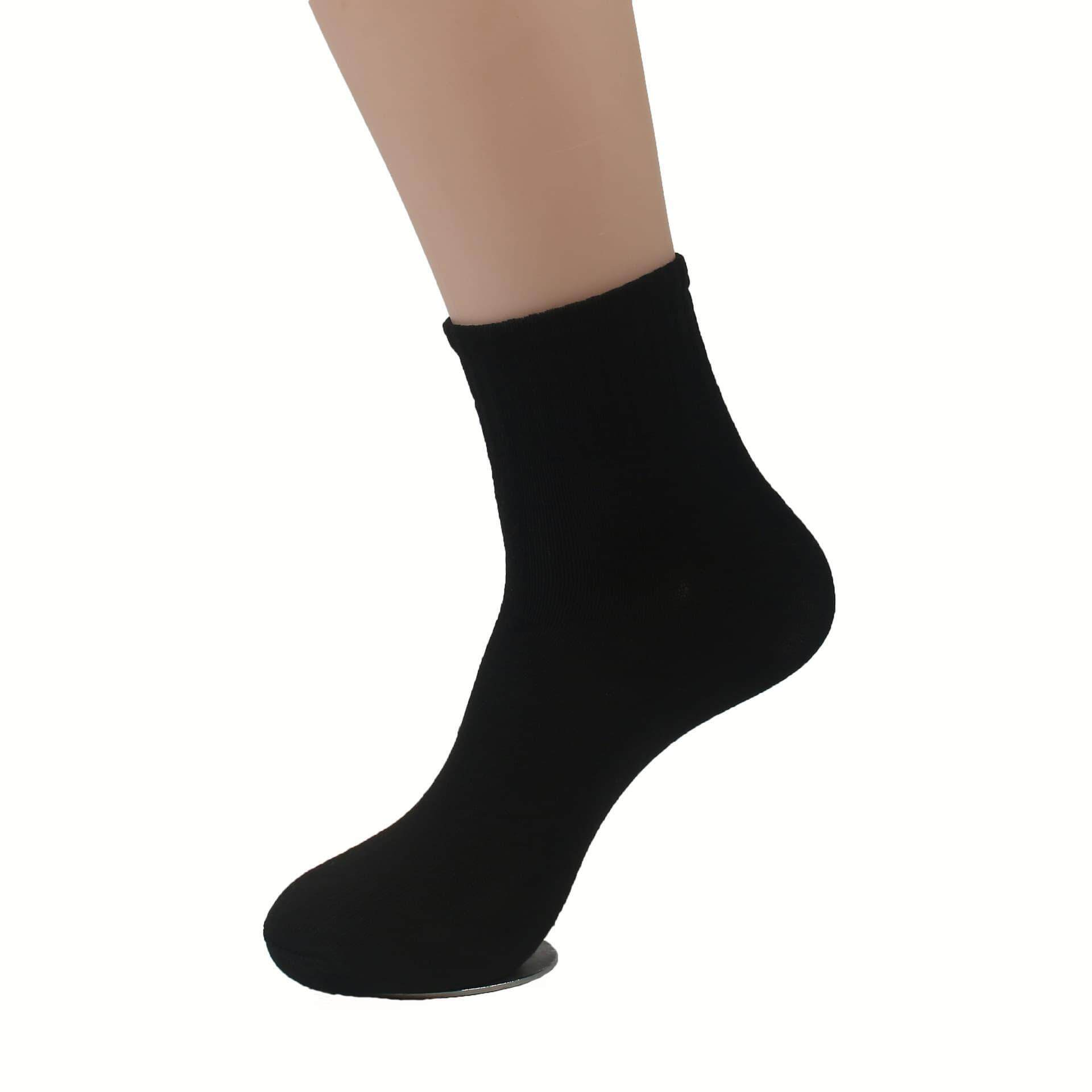 [Ready Stock] [3 Pairs] High Quality Men's Formal Business Casual Socks Mid Length British Style Cotton Comfortable Wear Fashion Long Lasting