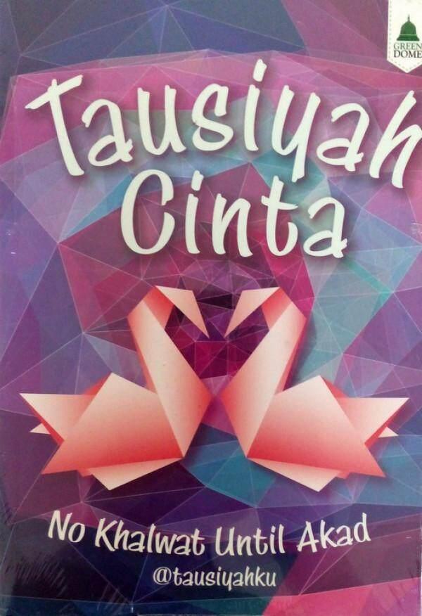 Tausiyah Cinta No Khalwat Until Akad Buku