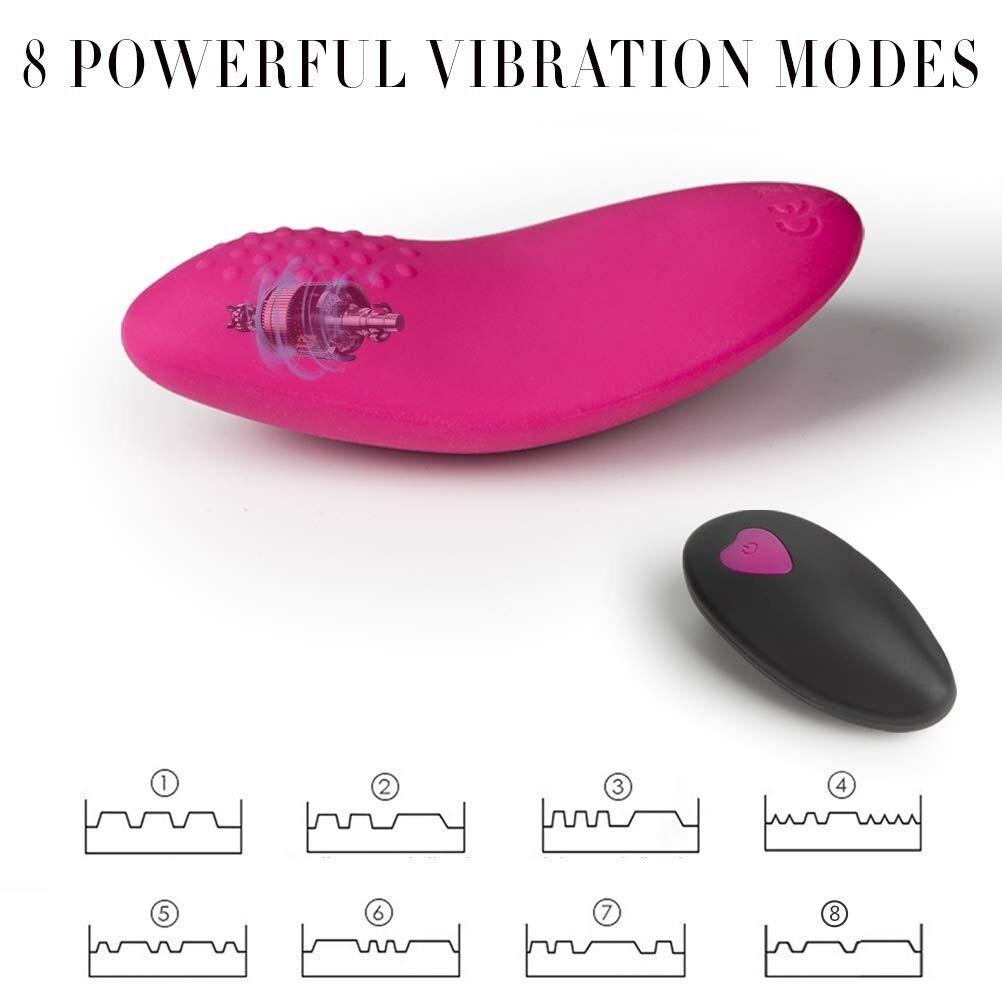 [7shop] Wearable Panty Vibrator Intense Stimulation Clitoral Stimulator Remote Sex Toys