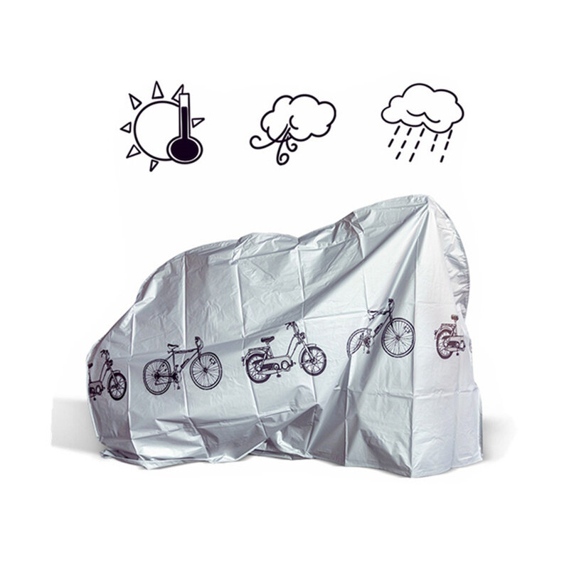 YKBIKE [LOCAL READY STOCK] Bike Cover Cycling Rain Dust Sunshine Cover Road Mountain Bicycle Motorcycle Protective OTR26