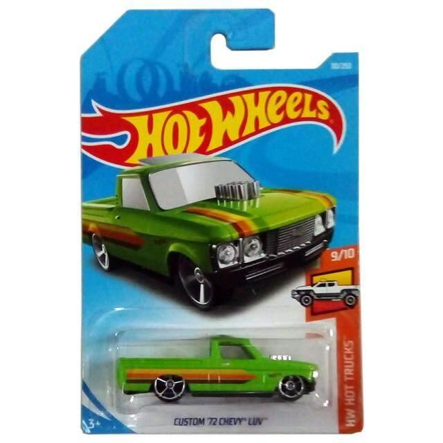 HOT WHEELS 2019 Hot Trucks Custom '72 Chevy Luv (Green)