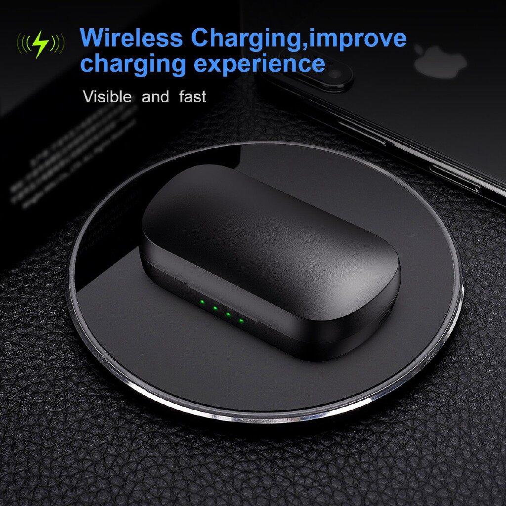 On-Ear Headphones - True 2600mAh BLUETOOTH5.0 Headphone Head SETs QI WIRELESS Charging Box DSP NC - Audio