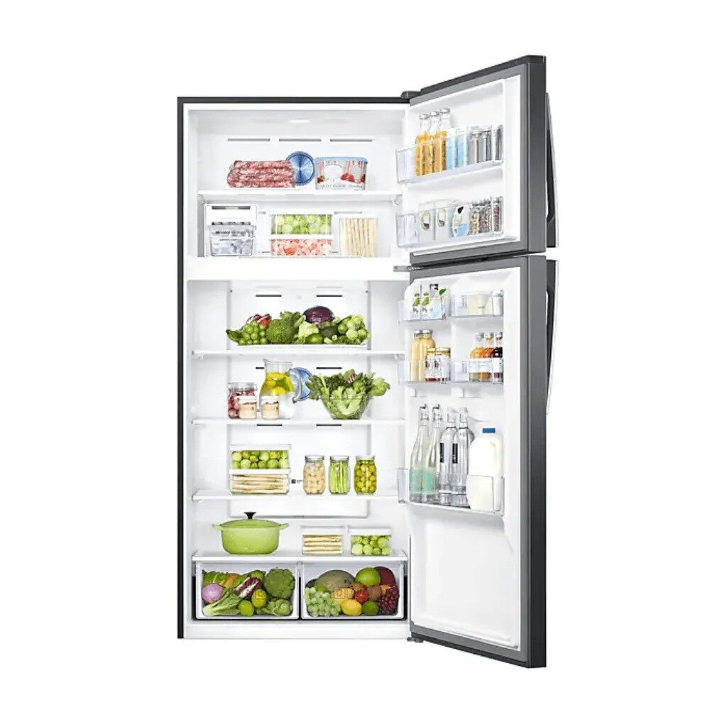 Samsung Inverter 2 door Refrigerator/Peti Sejuk 711L Top Mount Freezer with Twin Cooling Plus RT62K7005BS/ME