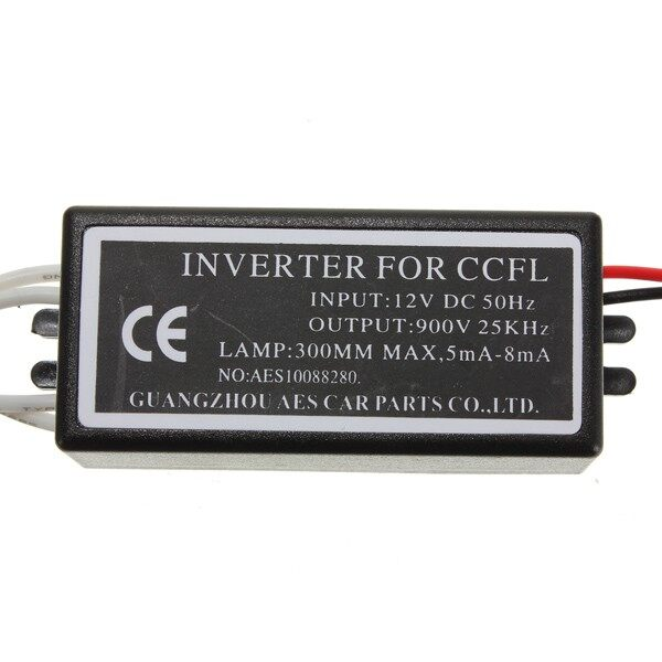 Car Lights - Pair Spare Inverter Ballast For BMW CCFL Angel Eyes Halo Rings Kit 12V 4-outputs - Replacement Parts