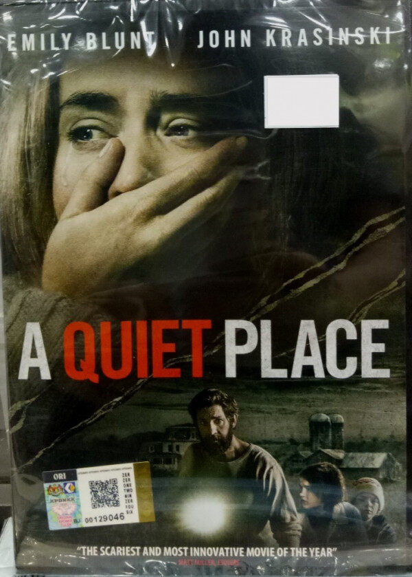 English Movie A Quiet Place Emily Blunt DVD