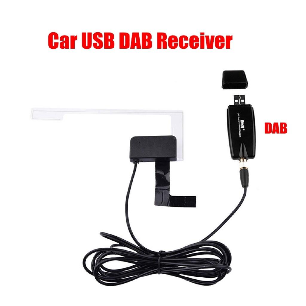Car Radios - DAB+ Digital Radio Box USB Stick Receiver Tuner with Antenna for Car Android DVD - Electronics