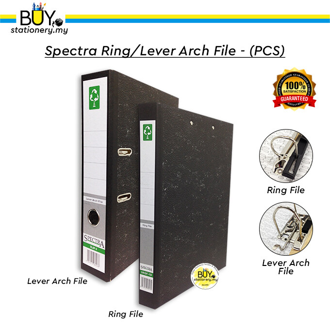 Spectra Ring/Lever Arch File - (PCS)