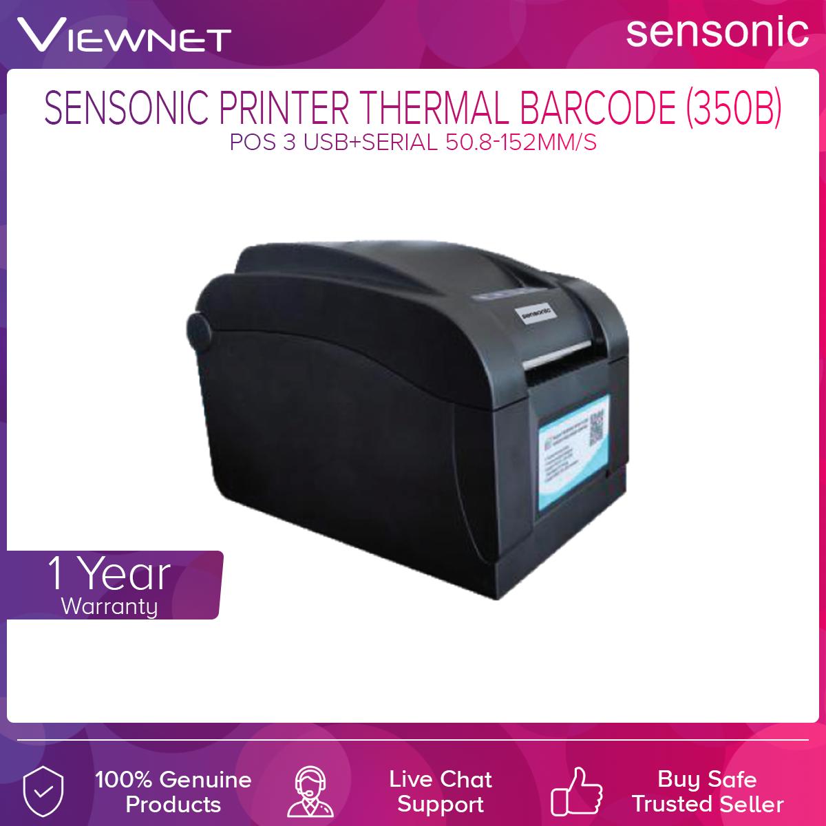Sensonic 350B Printer Thermal Barcode Pos 3 USB+SERIAL 50.8-152MM/S