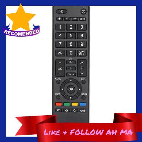 Best Selling Universal IR Wireless Controller TV Remote IR Remote LCD TV Remote Control Compatible with Toshiba CT-90326 (Standard)