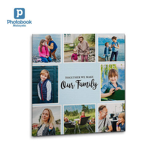 """[e-Voucher] Photobook Malaysia 8"""" x 8"""" Personalised Square Canvas Air"""