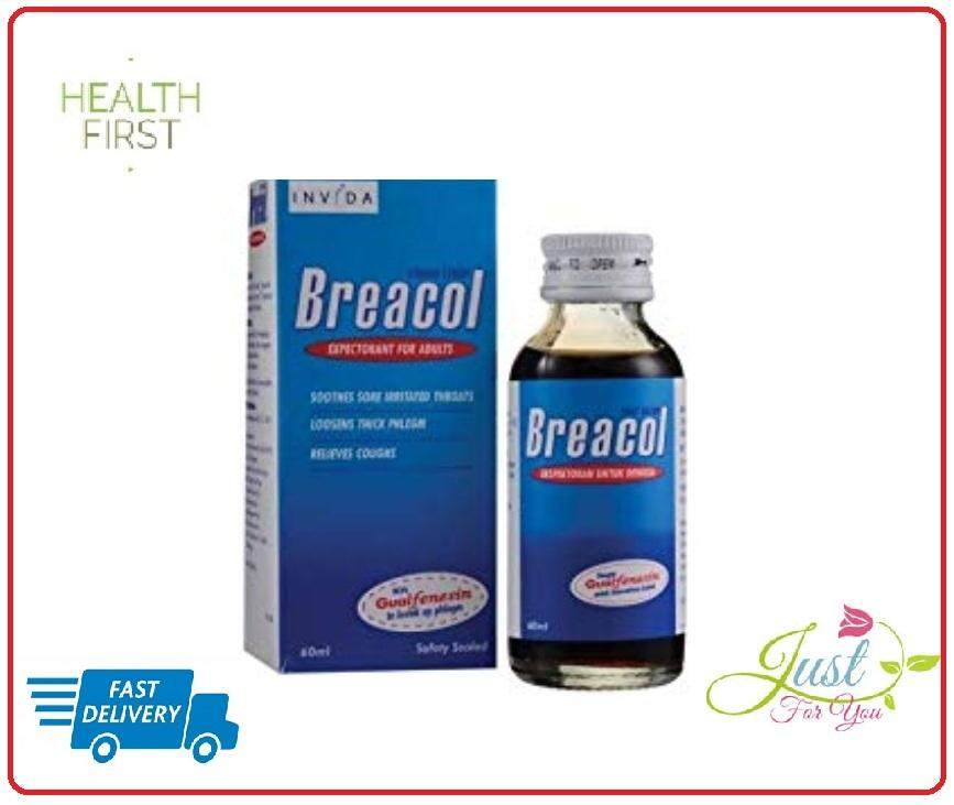 BREACOL COUGH SYRUP (ADULT) 60ML exp date 11/2021