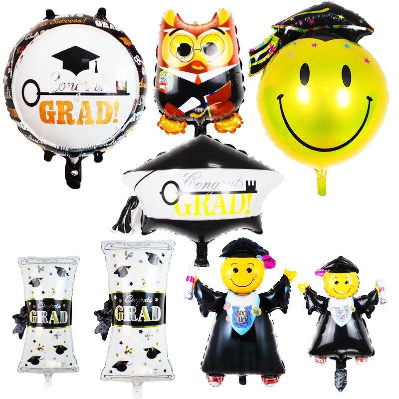 1pcs graduation balloon belon grad graduasi tahniah balloon   Convocation Balloon   Gift for party & events 毕业气球