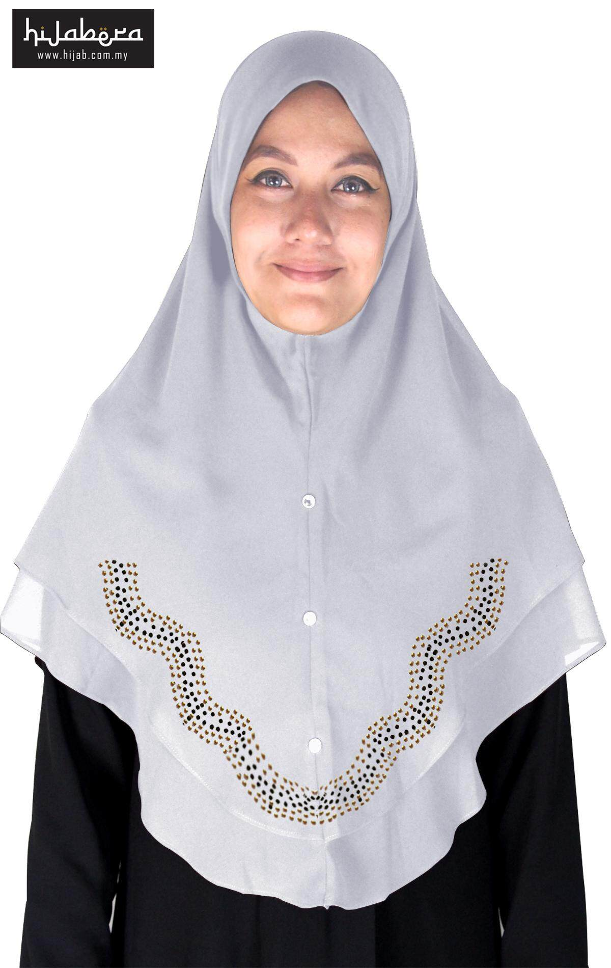 Special Edition Nur Amina Tudung With Crystal Design - Nur Amina