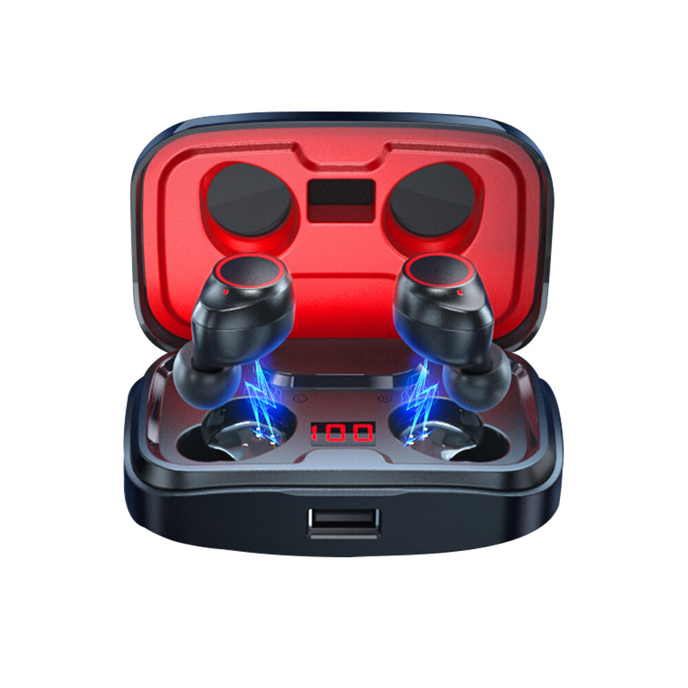 LED display E10 gaming earphones & headphones with power bank tws wireless gaming headsets