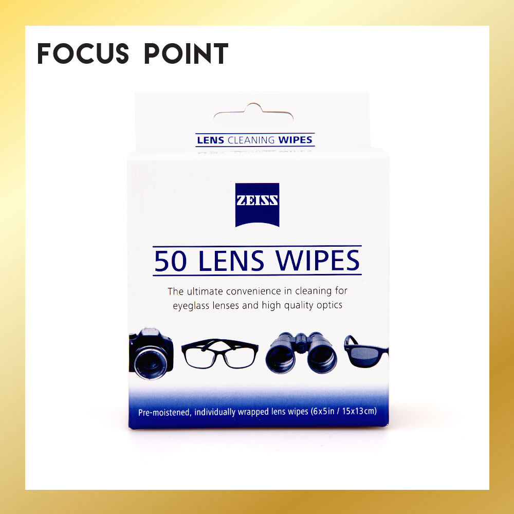 Zeiss Lens Cleaning Wipes (50 PCS)
